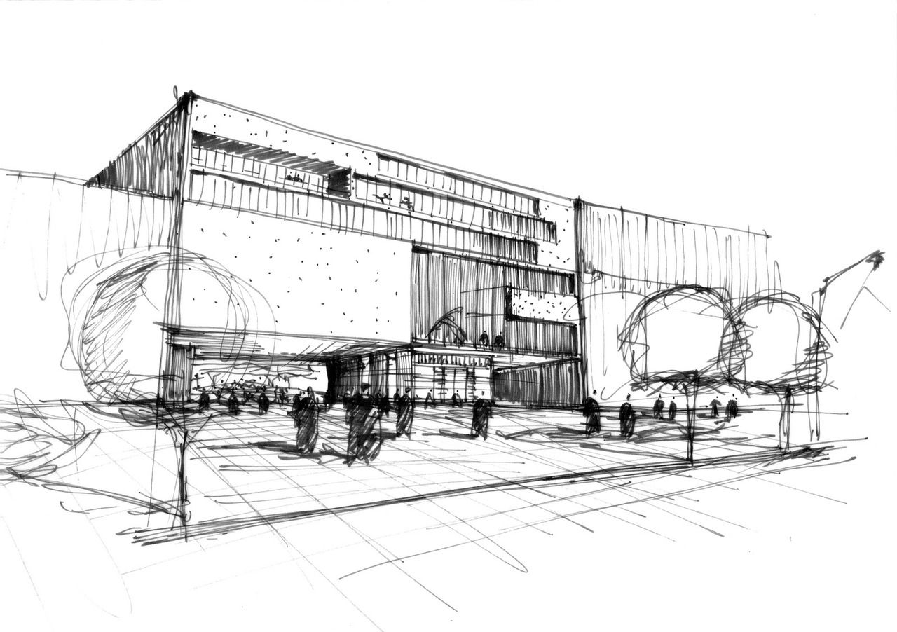 Architectural Drawing Sketch architectural drawings | arquitectura | pinterest | sketches