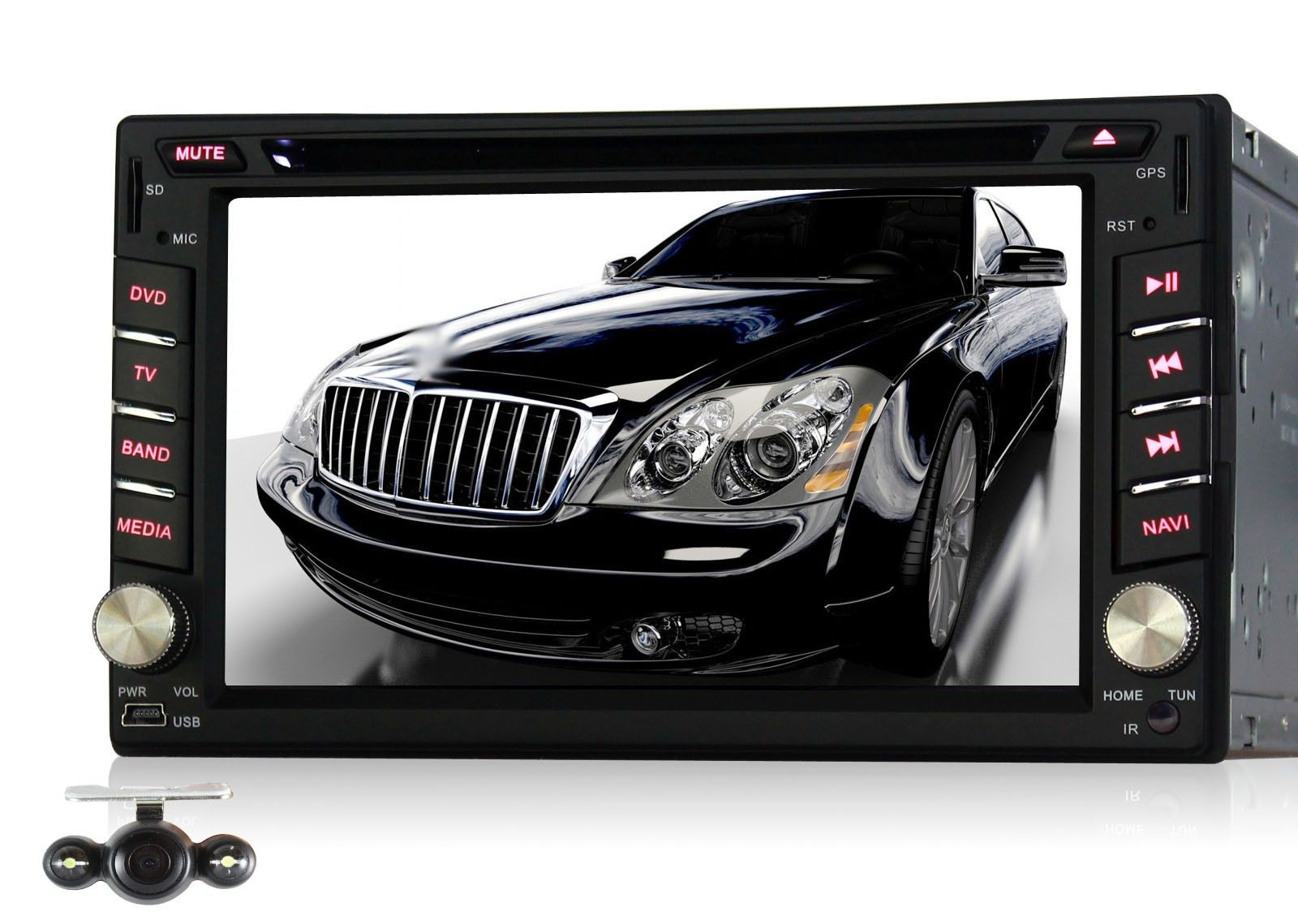 Best android 4 4 kitkat car stereo double 2 din universal dvd player gps navigation system