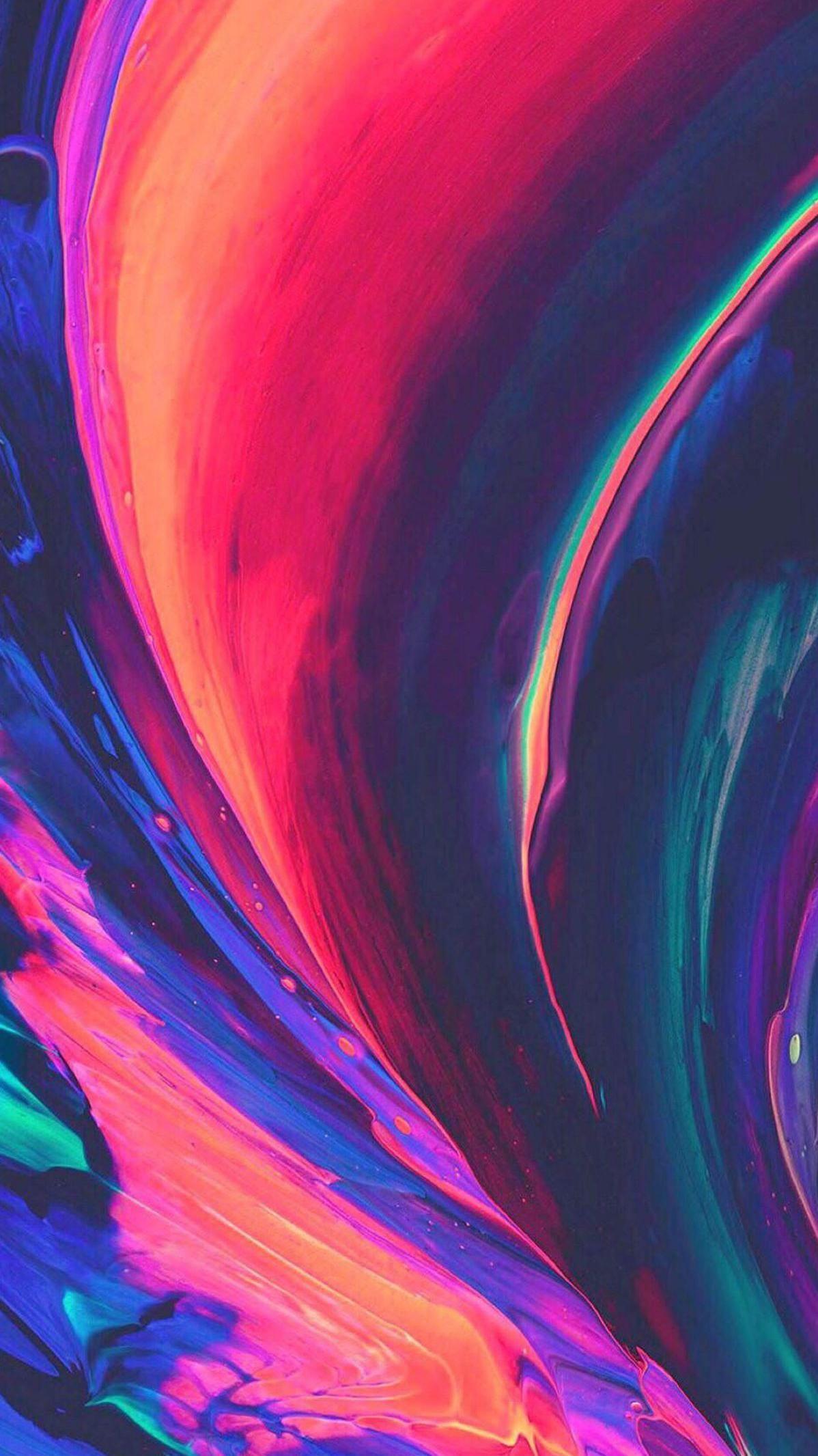 Imaginary Colors iPhone Wallpaper
