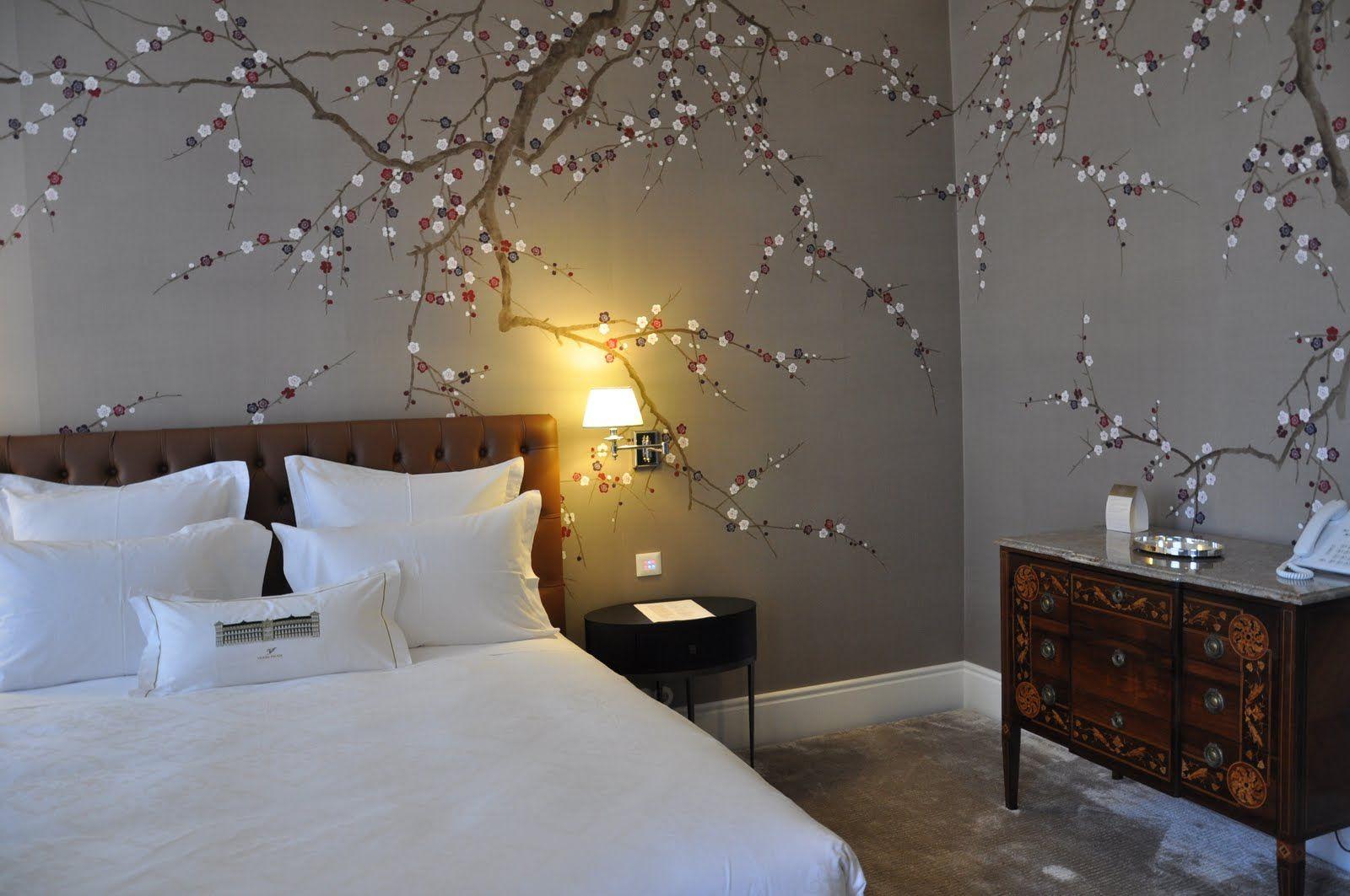 Cherry blossom wall art love decor i want pinterest for Cherry blossom bedroom ideas