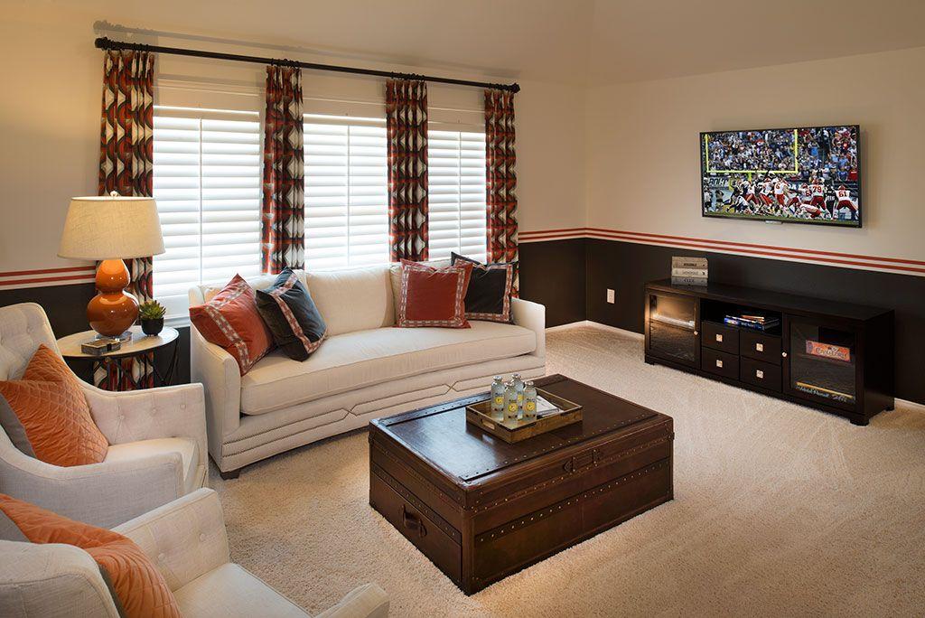 Highland Homes Long Meadow Farms 50s Game Room Richmond Tx Plan 511t Bonus Room