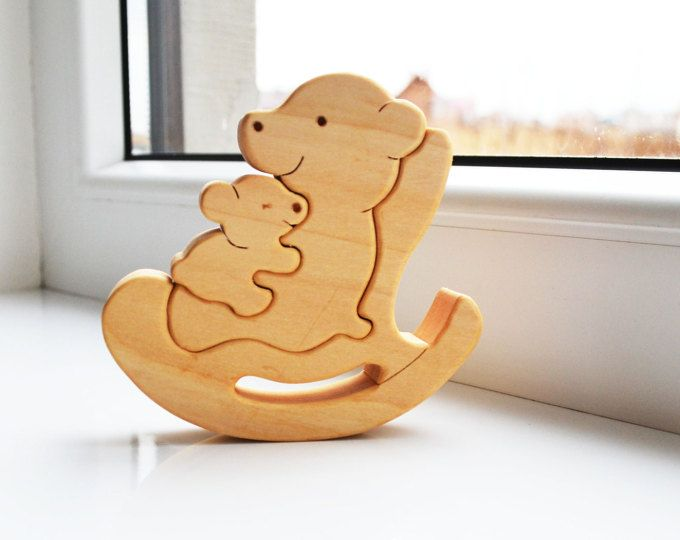 Father's Day gift Wooden Puzzle giraffe Toddler toys Puzzle Toy Kids gifts Giraffe toy Giraffes family Animal toy family #elephantitems