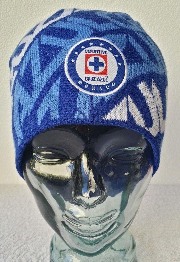 Official Cruz Azul FC Winter Cap Fitted Beanie Skull Cap Hat New With Tags  OSFM  Rhinox  FittedBeanie  CruzAzul 8c6fdead783