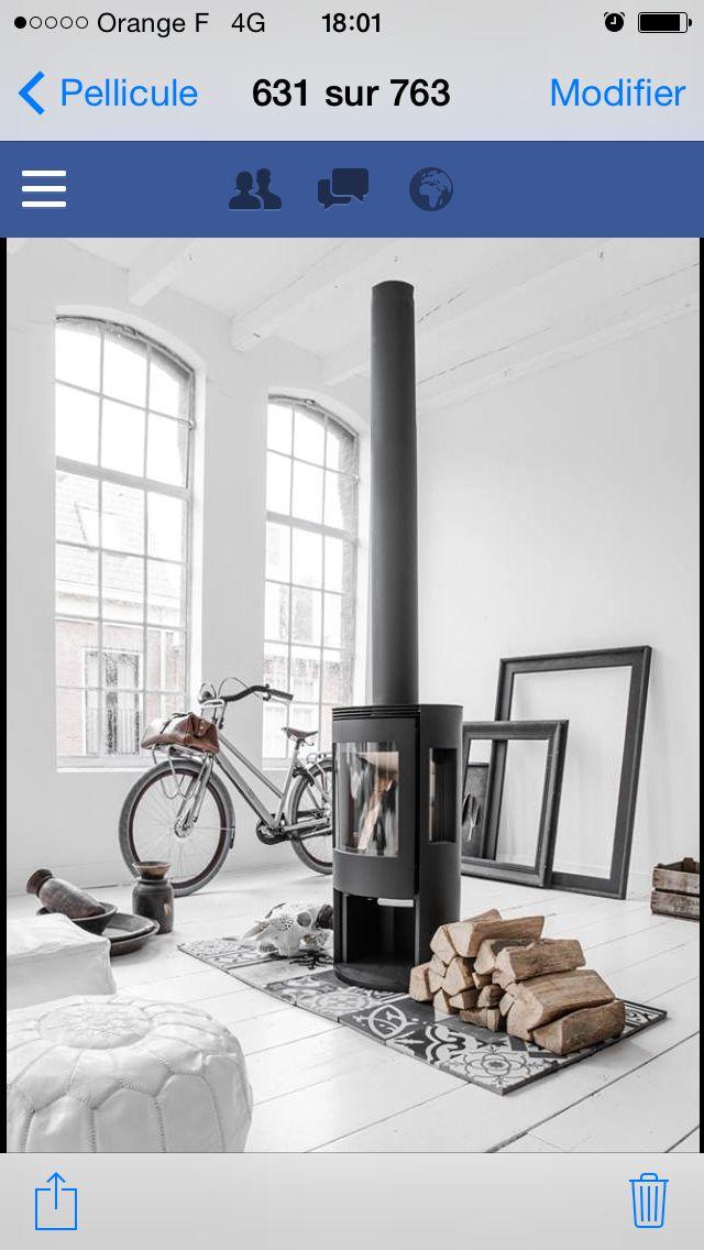 Scandinave Décoration   Design Pinterest - tipos de chimeneas