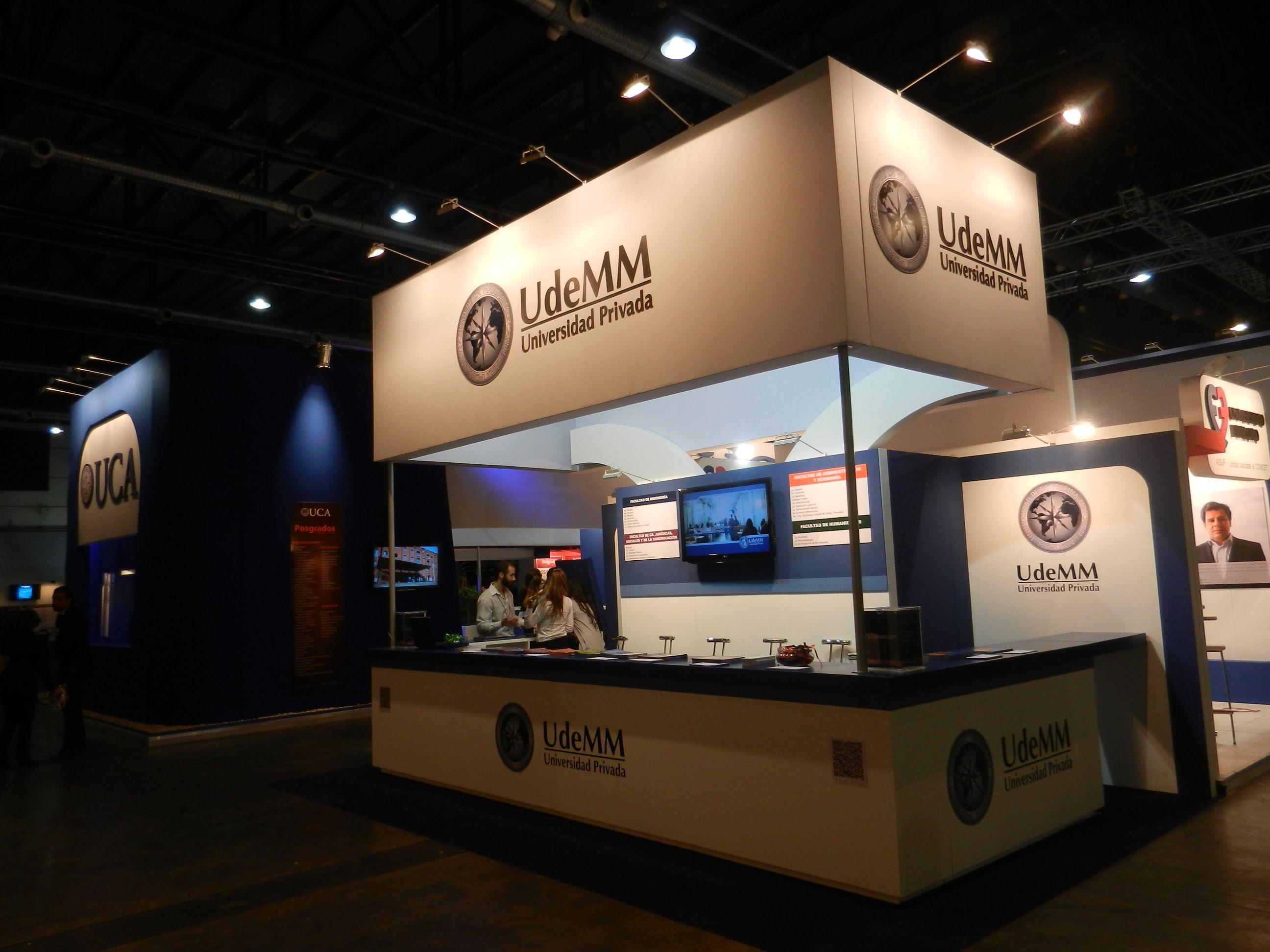 Stand de Universidad de la Marina Mercante (UdeMM) en Expo Universidad 2014 - Buenos Aires - Argentina - Diseño de MW Arquitectura