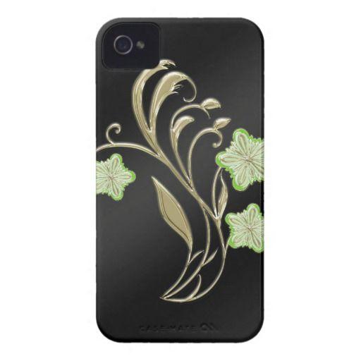 Flower Swoosh Green - Cell Phone Case