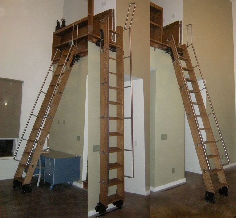 attic closet door ideas - Phill realistic idea of a loft ladder