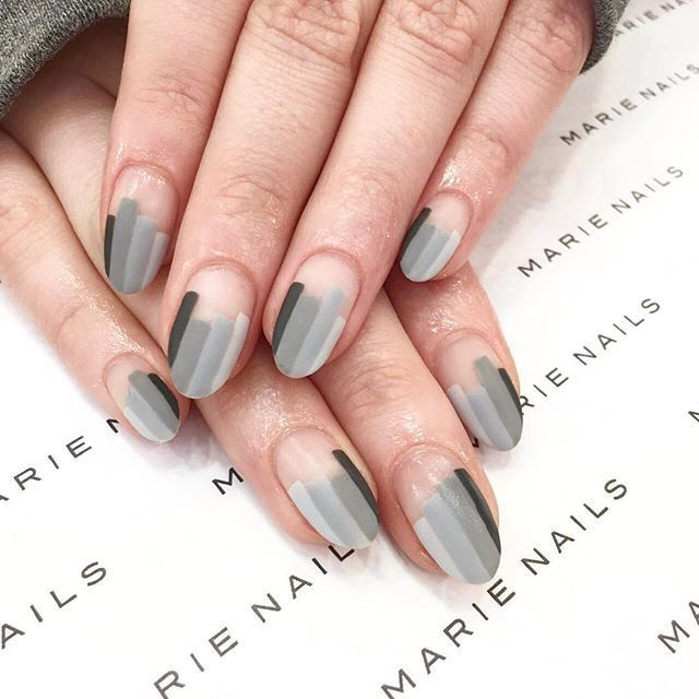 Negativ Space Nails, marienails