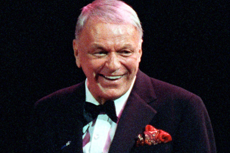 Frank Sinatra Fashion Show