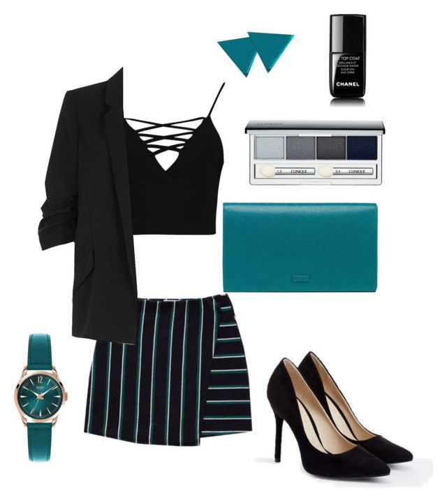 """""""4"""" by alin-dee on Polyvore featuring мода, Boohoo, JustFab, Henry London, Wolf & Moon, River Island, Clinique, Chanel и Gucci"""