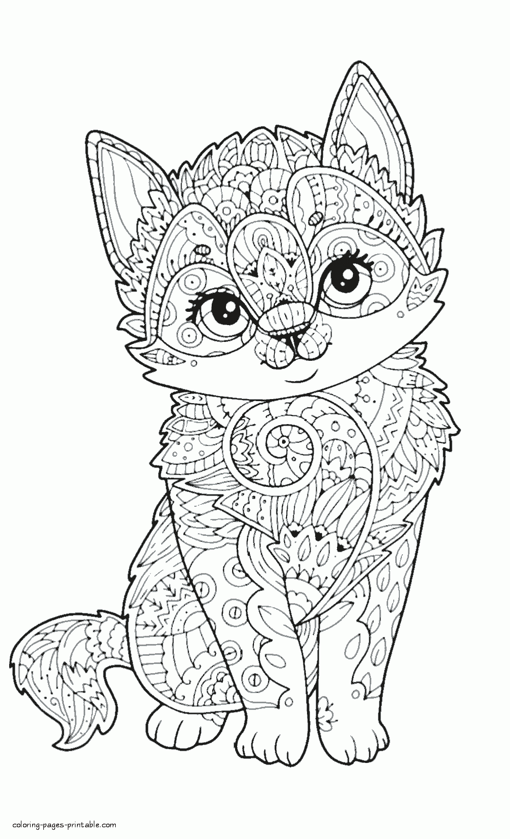 2c234c4318b8769cd1f0e5ddbe4c0a11 » Mandala Animal Coloring Pages