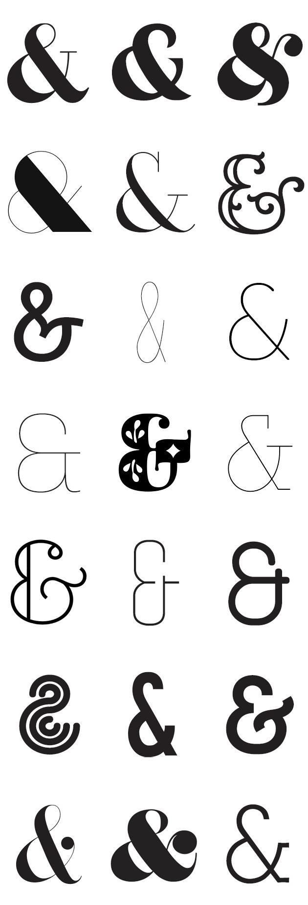 Ampersand typography