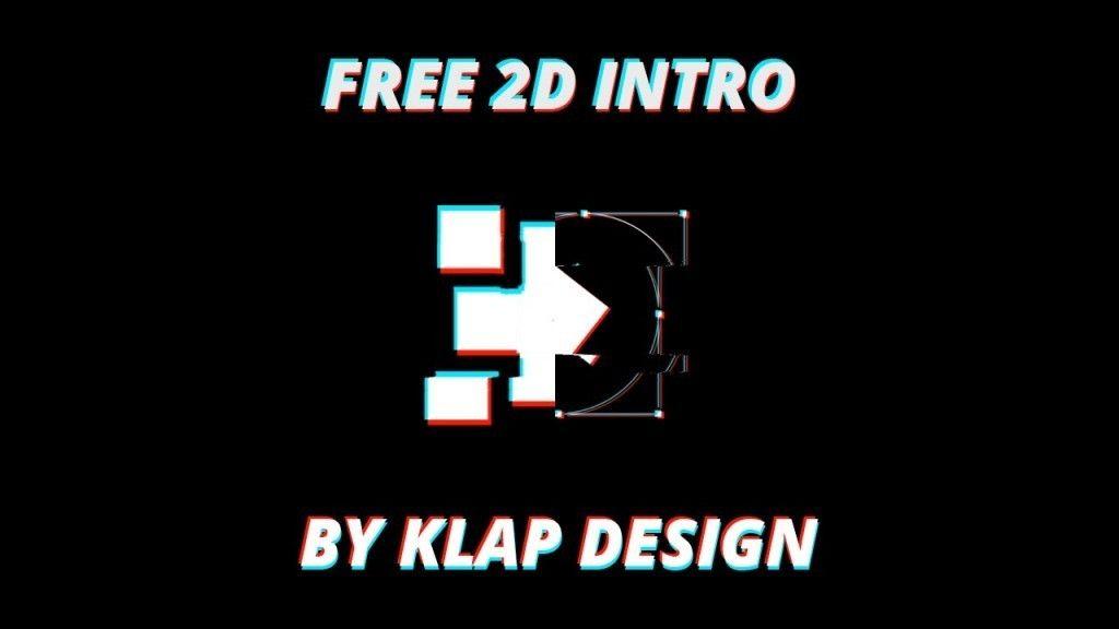 GLITCH FREE 2D Intro Template #mockupcatalog #free #graphicdesign ...