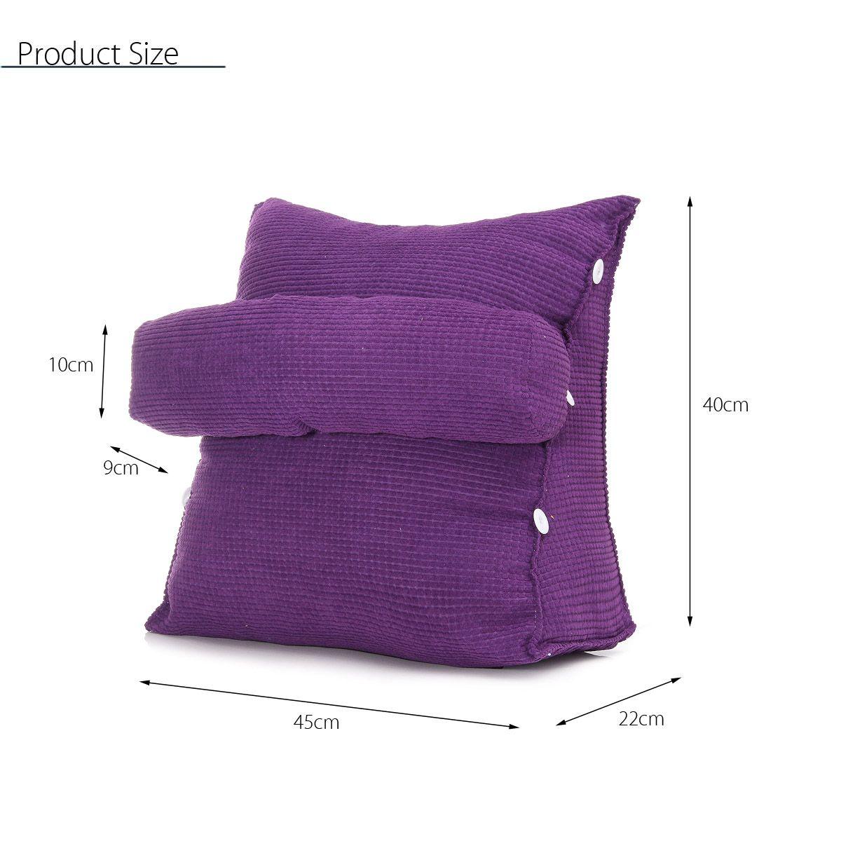 pillow bed backrest office chair pillow