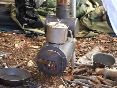 DIY Campstoves (Kifaru Types) Bushcraft, Camping, Shelter And - How To Build A Small Wood Stove WB Designs
