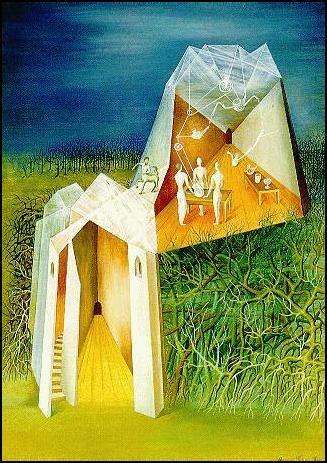 Paisaje Torre Centauro, Remedios Varo, 1943