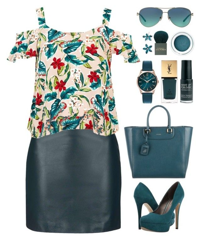 """#454"" by riozannat ❤ liked on Polyvore featuring Topshop, Dolce&Gabbana, Michael Antonio, Henry London, Yves Saint Laurent, Tiffany & Co., MAC Cosmetics and New Directions"