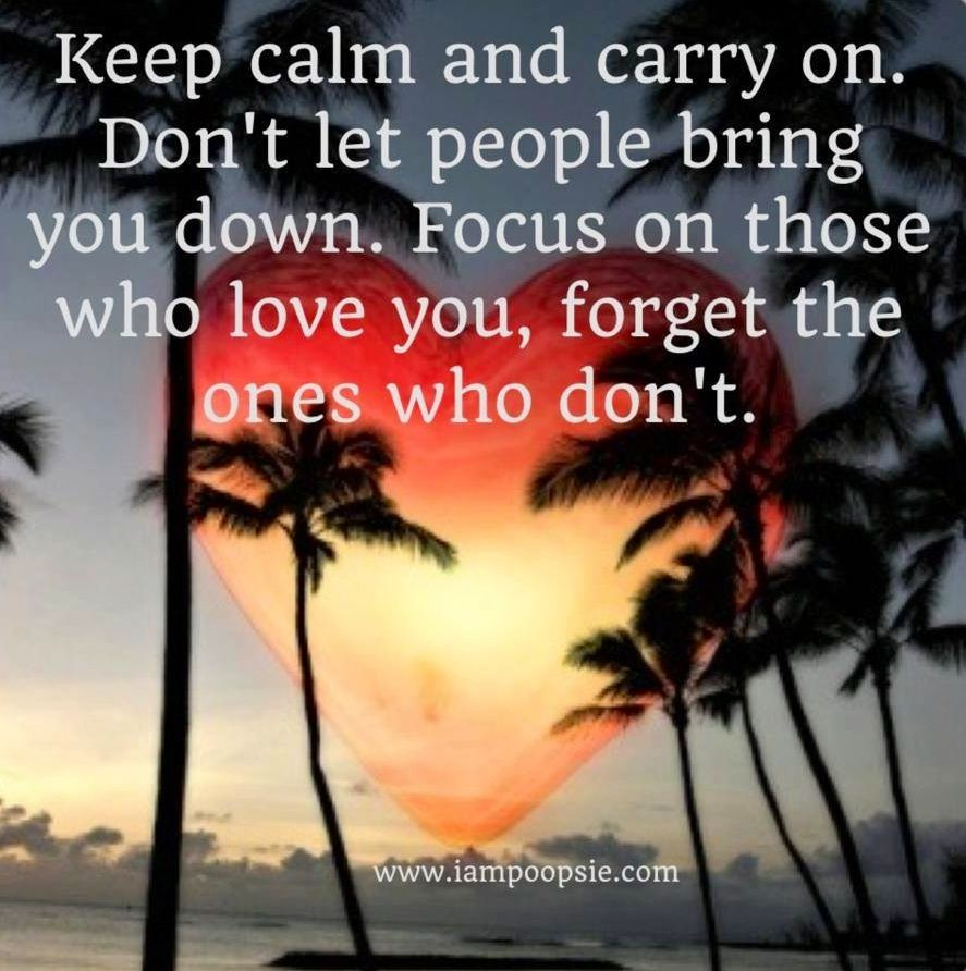 Keep calm quote via www.IamPoopsie.com