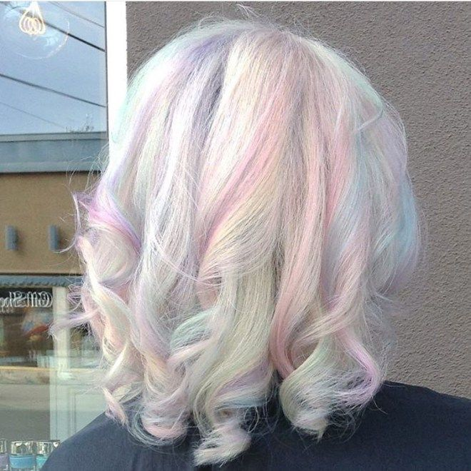 Colors That Look Good With Pink: 10 Opal Hair Looks That Rock The Latest Trend At