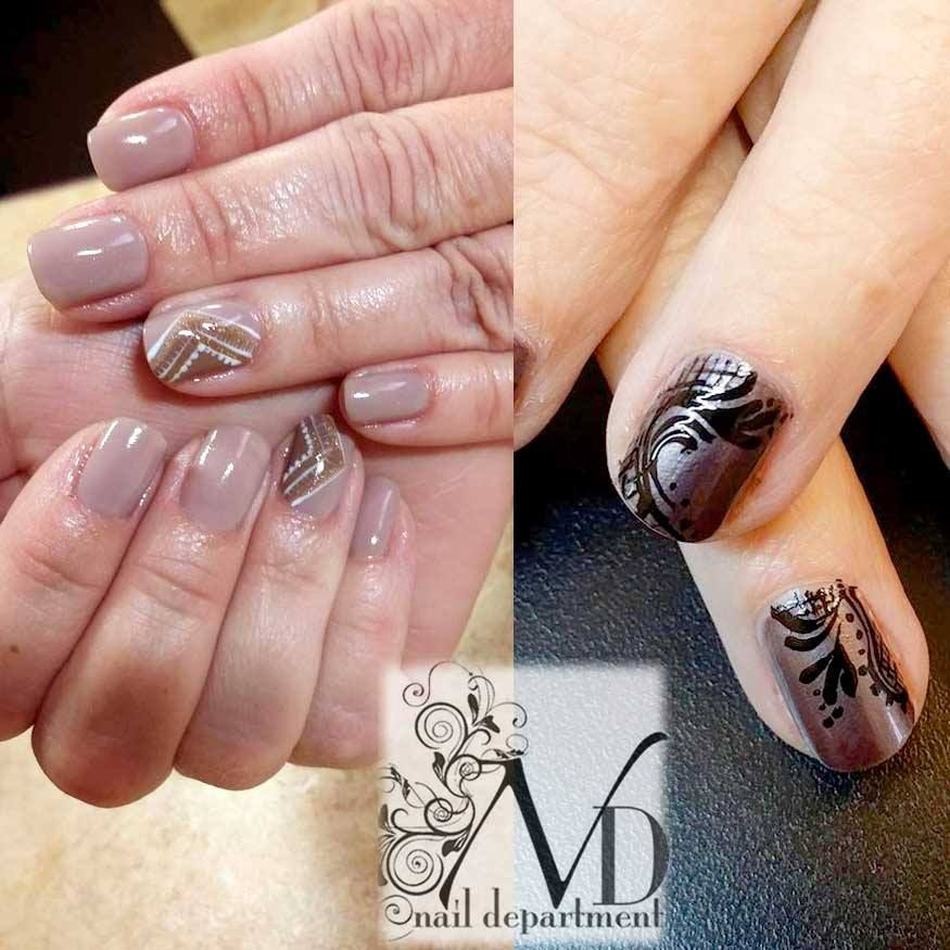Get some wonderful Gel polish nails for the Autumn season! Give us a ...
