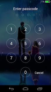 Fireflies lockscreen Application android, Application
