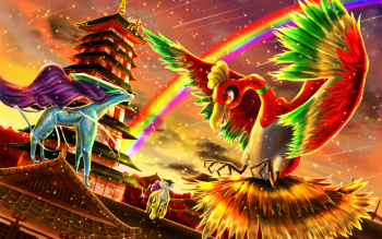 16 Ho Oh Pokemon Hd Wallpapers Backgrounds Wallpaper Abyss Cool Pokemon Wallpapers Pokemon Cool Pokemon