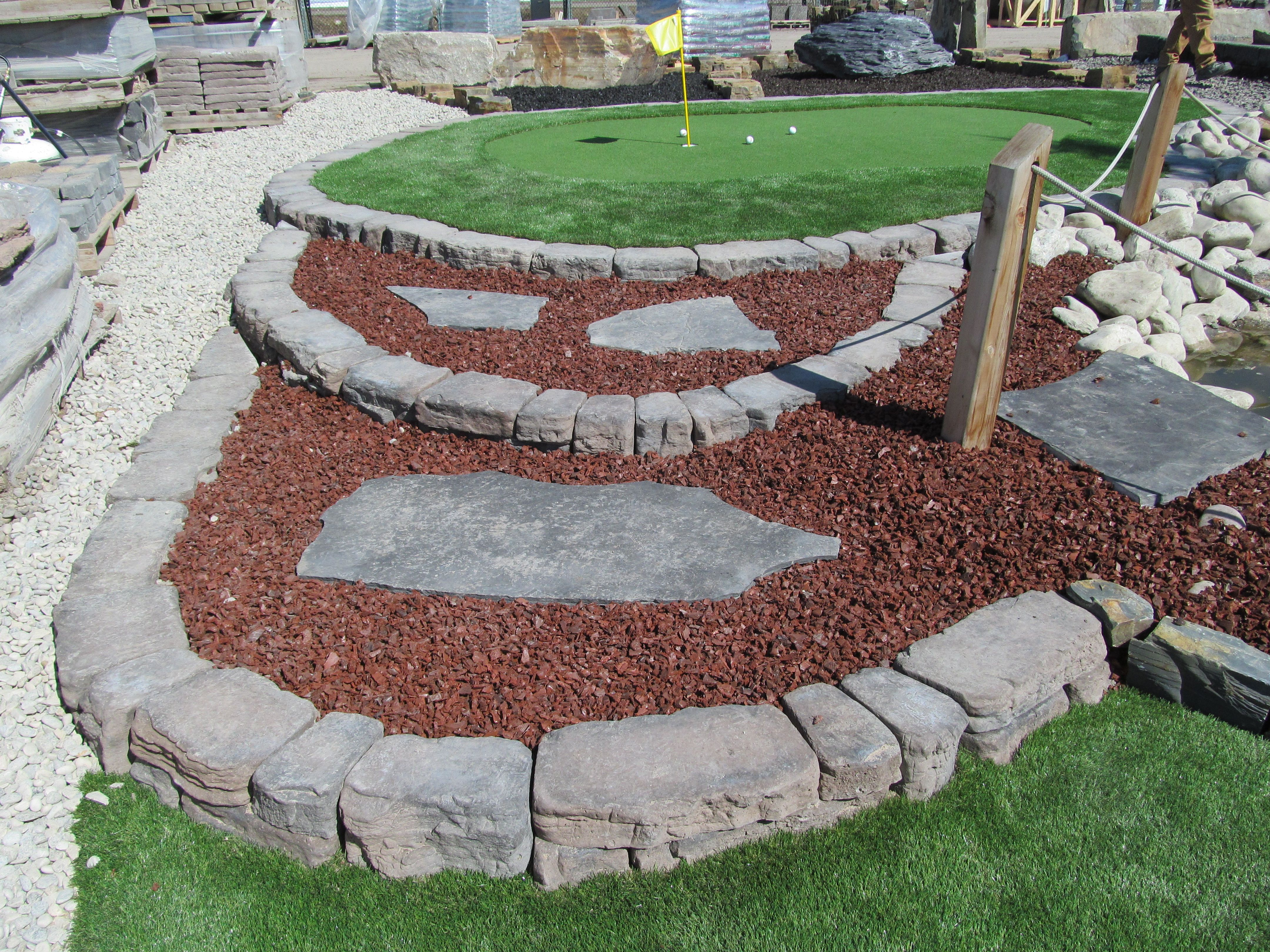 Artificial grass is low-maintenance and looks great all year long