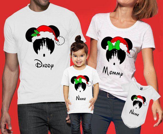 disney christmas shirts disney christmas family shirts matching christmas shirts xmas disney tshirts santa minnie shirts