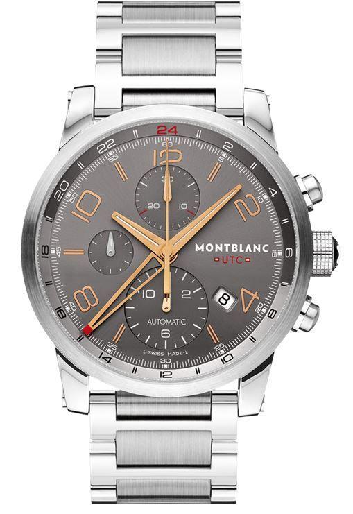 6f21418d8b0 Montblanc Timewalker Chronograph Voyager UTC Men s Watch 107303 ...