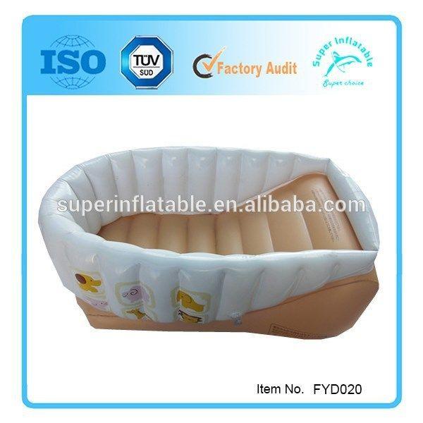 Inflatable Infant Bath Tub, Safety Baby Bath Tub, Infant Baby Bathtub