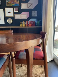 Vintage Danish Rosewood Dining Table Br Is An Extension Table