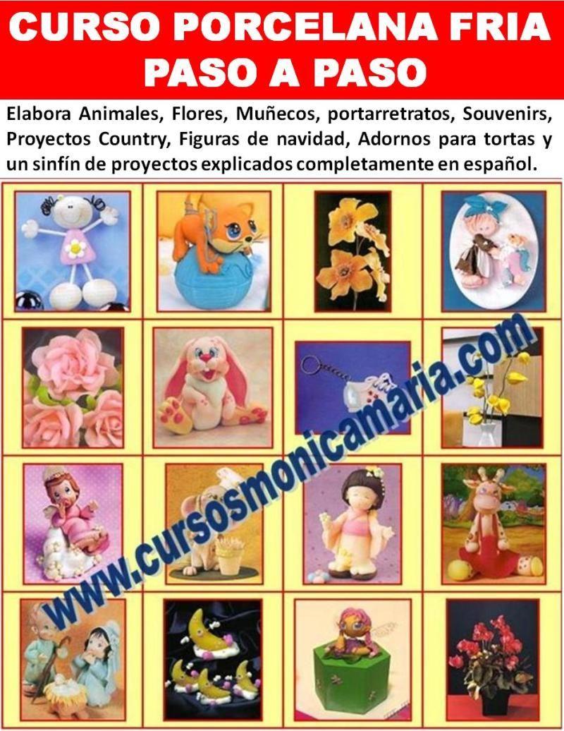 Curso Porcelana Fria Porcelanicron Masa Flexible Pasta Francesa  ~ Cursos De Manualidades En Valencia