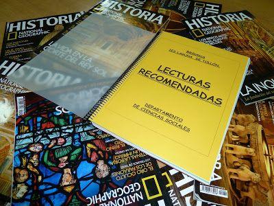 Blog del IES Laguna de Tollón: Dossier de lecturas recomendadas del departamento ...
