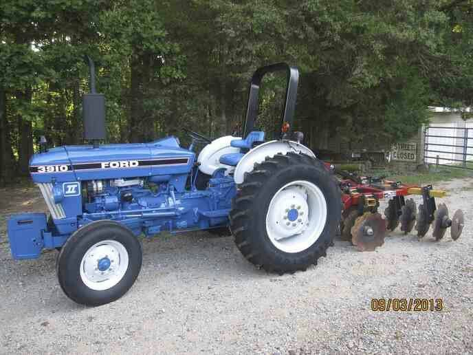 Ford 3910 Tractor Photos Tractors Ford Tractors