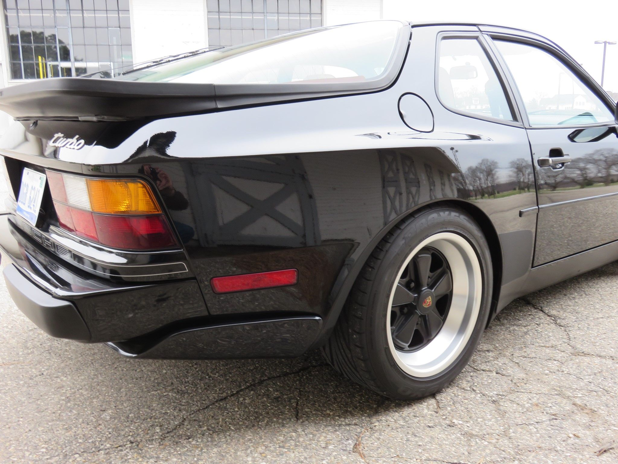 This 60k Mile 1986 Porsche 944 Turbo Is A Mechanically Stock Example Timing Belt With Documented Service History From New The And Water Pump Was
