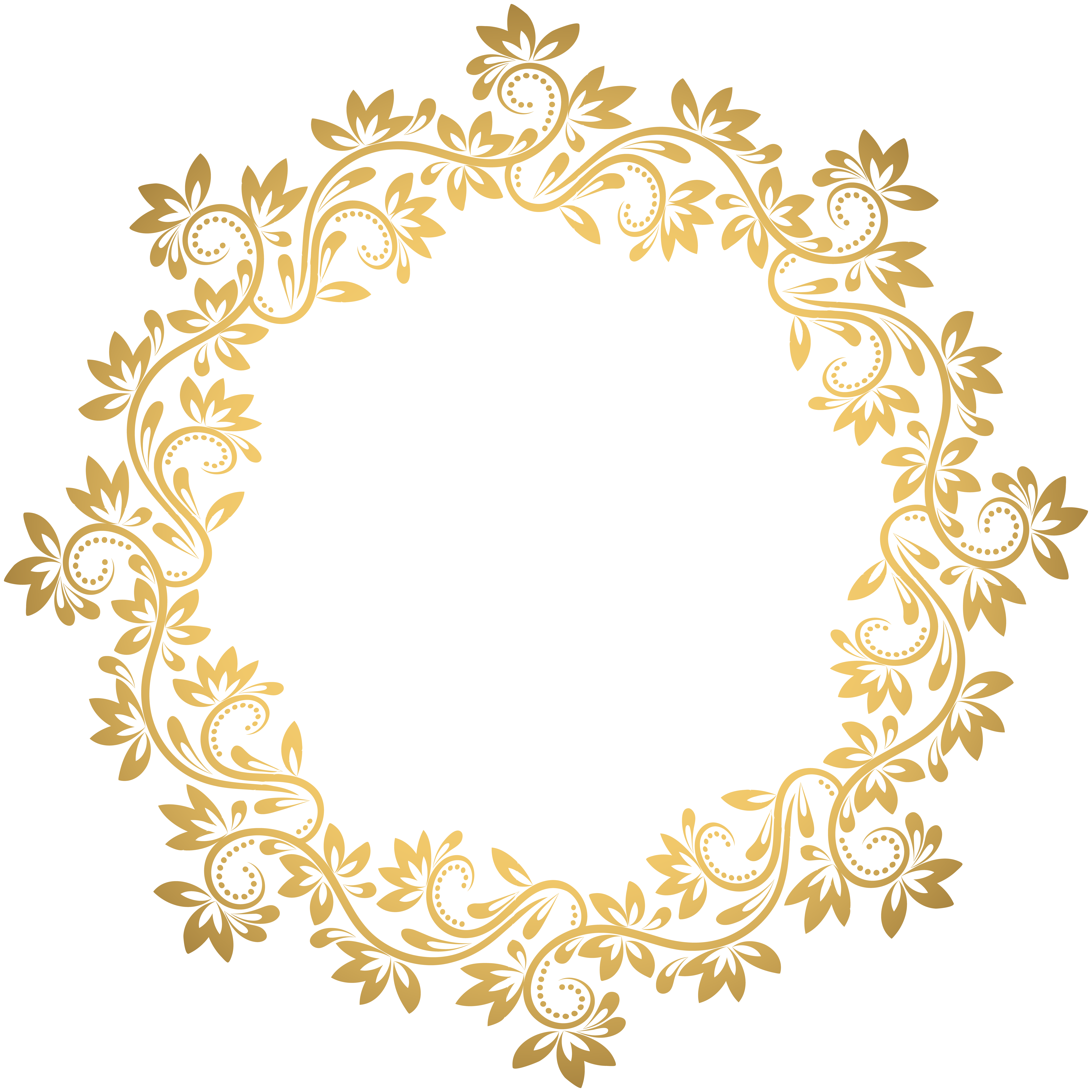 Gold Deco Round Border Png Transparent Clip Art Gallery Yopriceville High Quality Images And Transparent Png Free Clip Art Borders Clip Art Free Clip Art