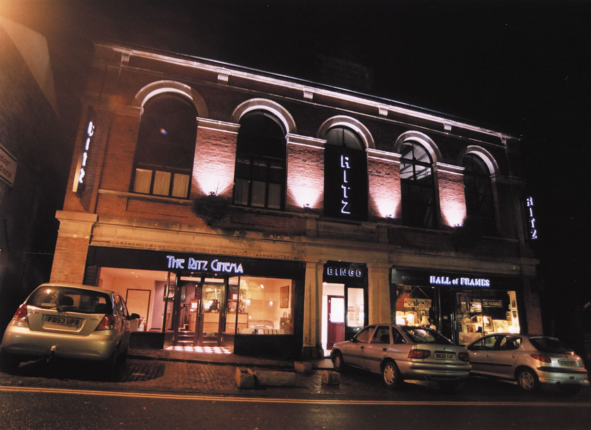 The Ritz Cinema, Belper (arch: Bill Chew Associates Ltd