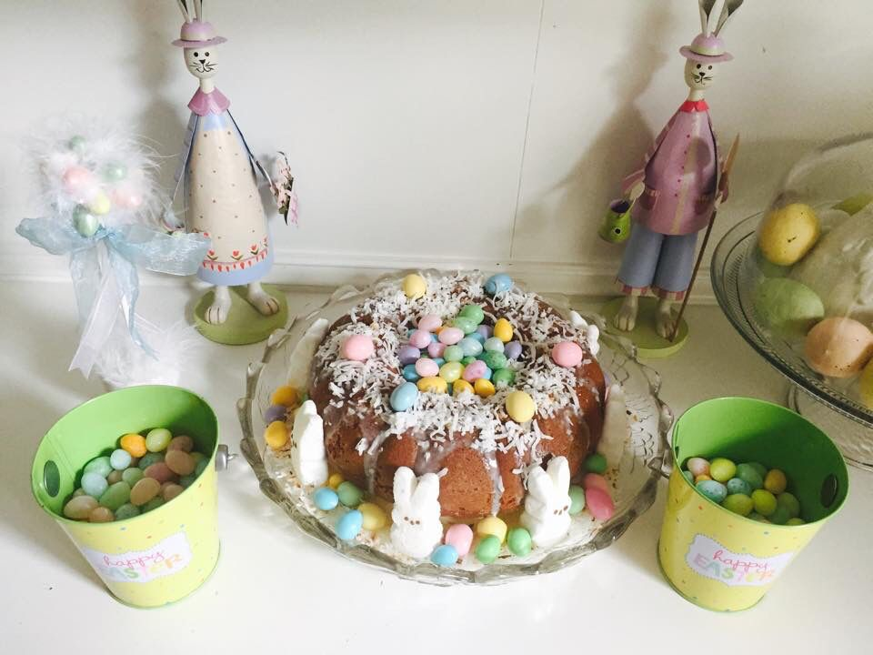 Pastel de Pascua. 💐🌸🌷🐣🐥🐰🐤 Food, Desserts, Cake