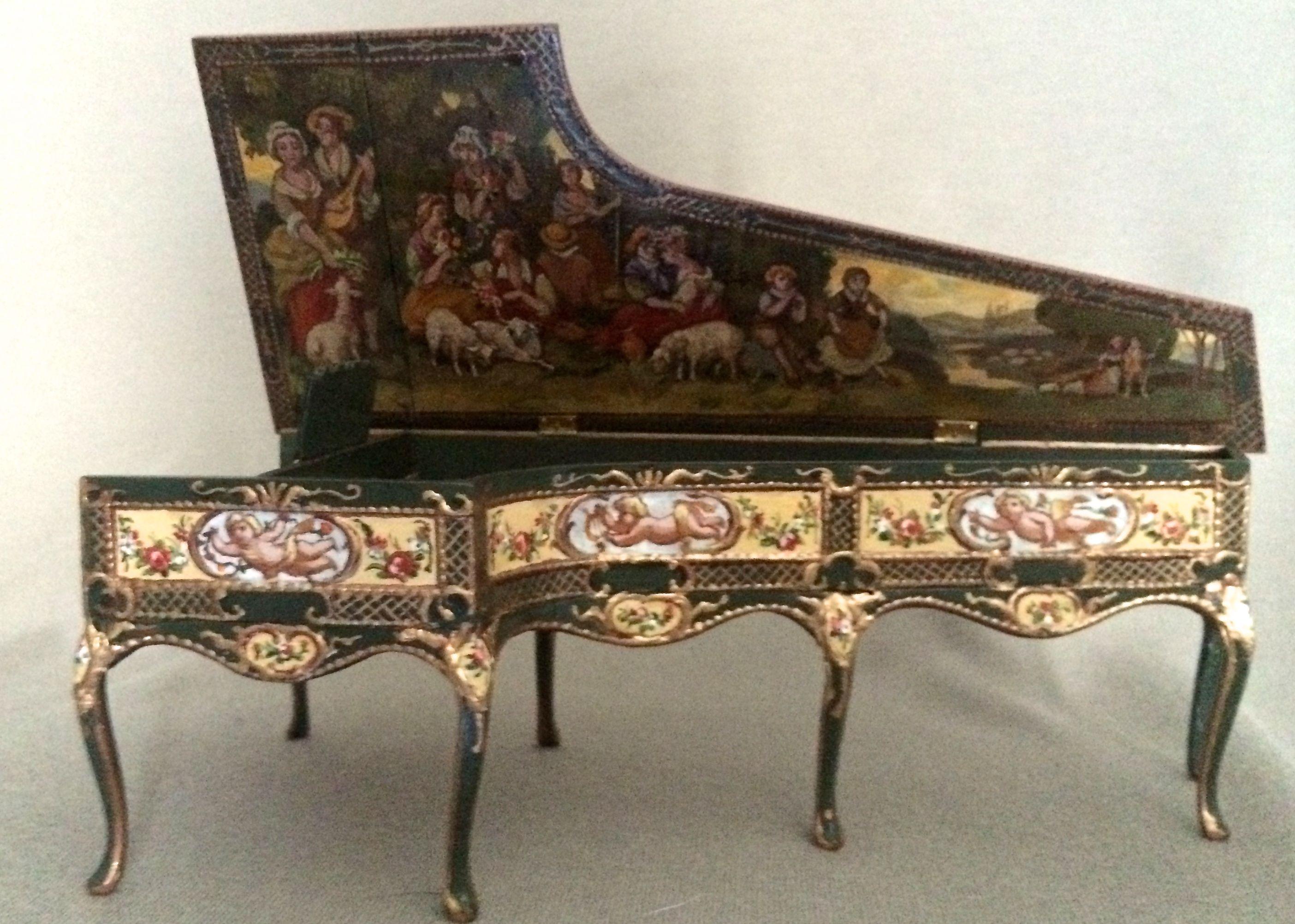 Kuchaski Muebles - Pastoral Harpsichord Miniature Musical Instruments Pinterest [mjhdah]https://i.pinimg.com/originals/69/7a/25/697a25f151b7aac8b0cad3d28bf1821c.jpg