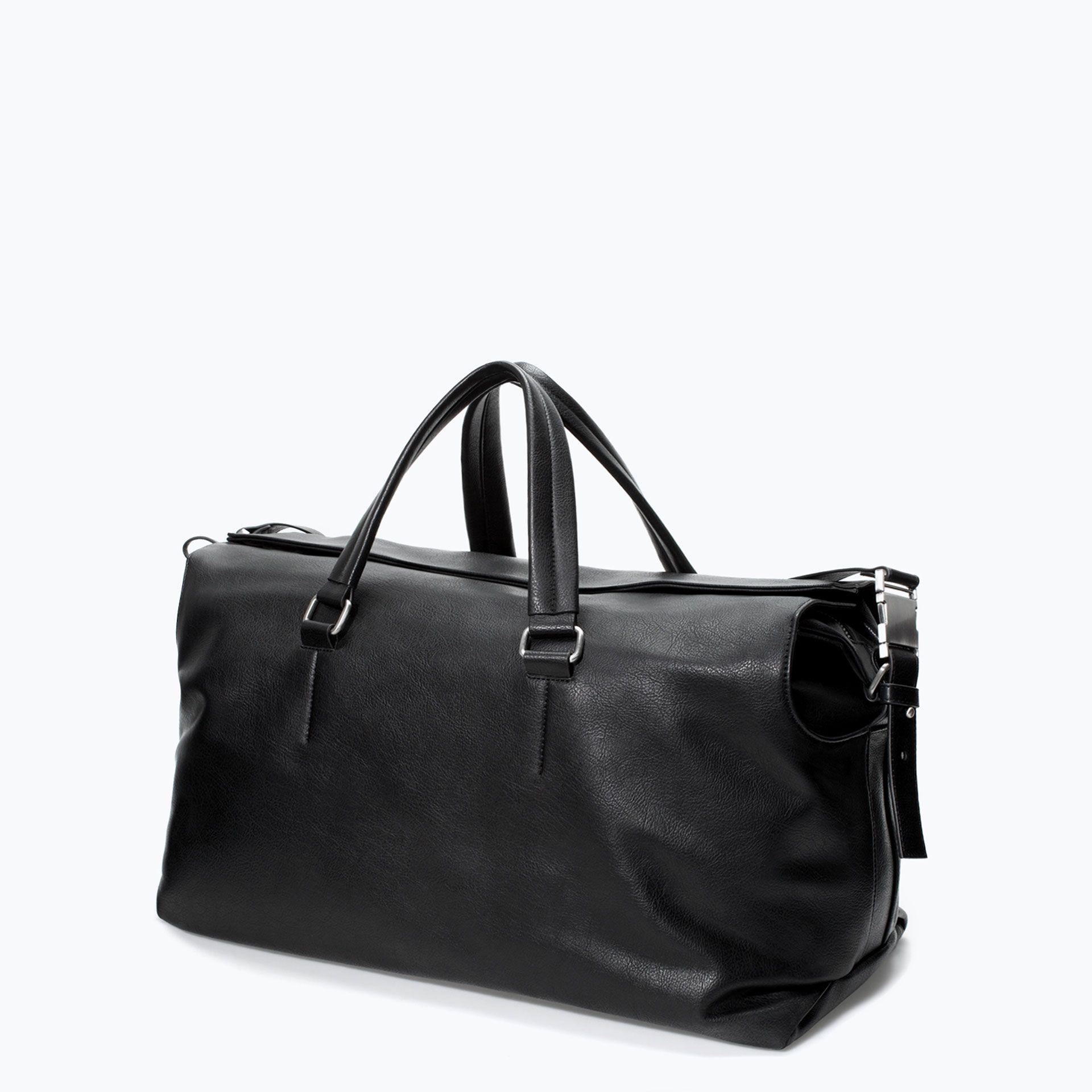 52a08ead58 Zara Gym Bag Zara Man