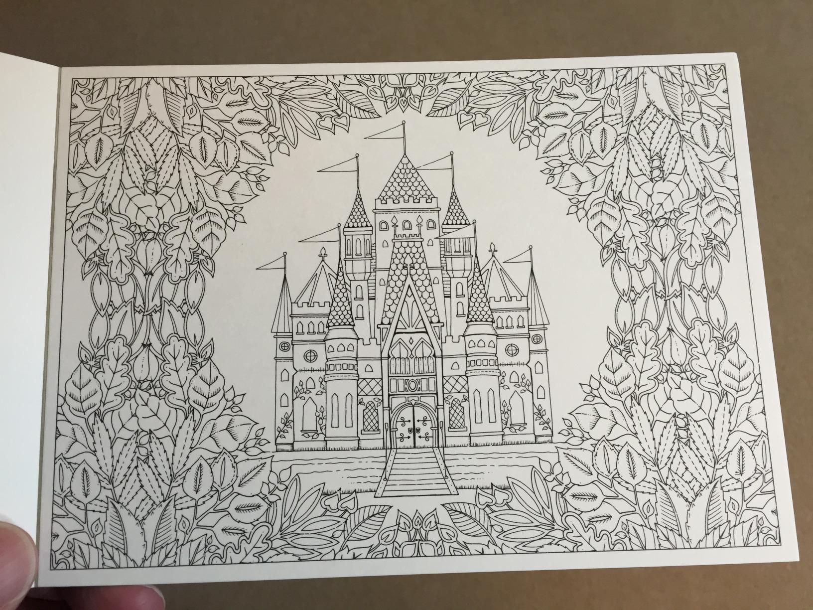 Amazon Prime Now Enchanted Forest Postcards 20 9781856699792 Johanna Basford BooksAdult Coloring