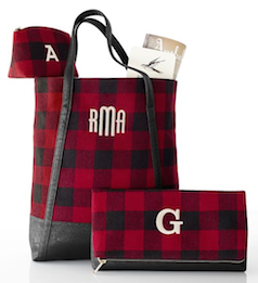 Monogram plaid - 3 different size bags