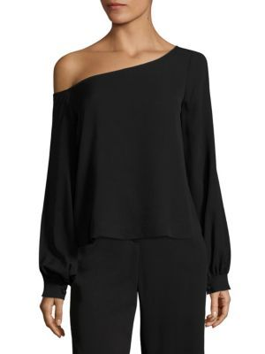 c00e8b72a8e A.L.C. - Nevia One Shoulder Top | Clothes | One shoulder tops, Off ...