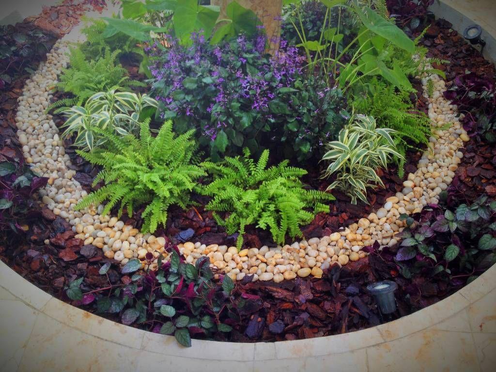 Fotos de jardines de estilo moderno peque os rincones for Jardines naturales pequenos