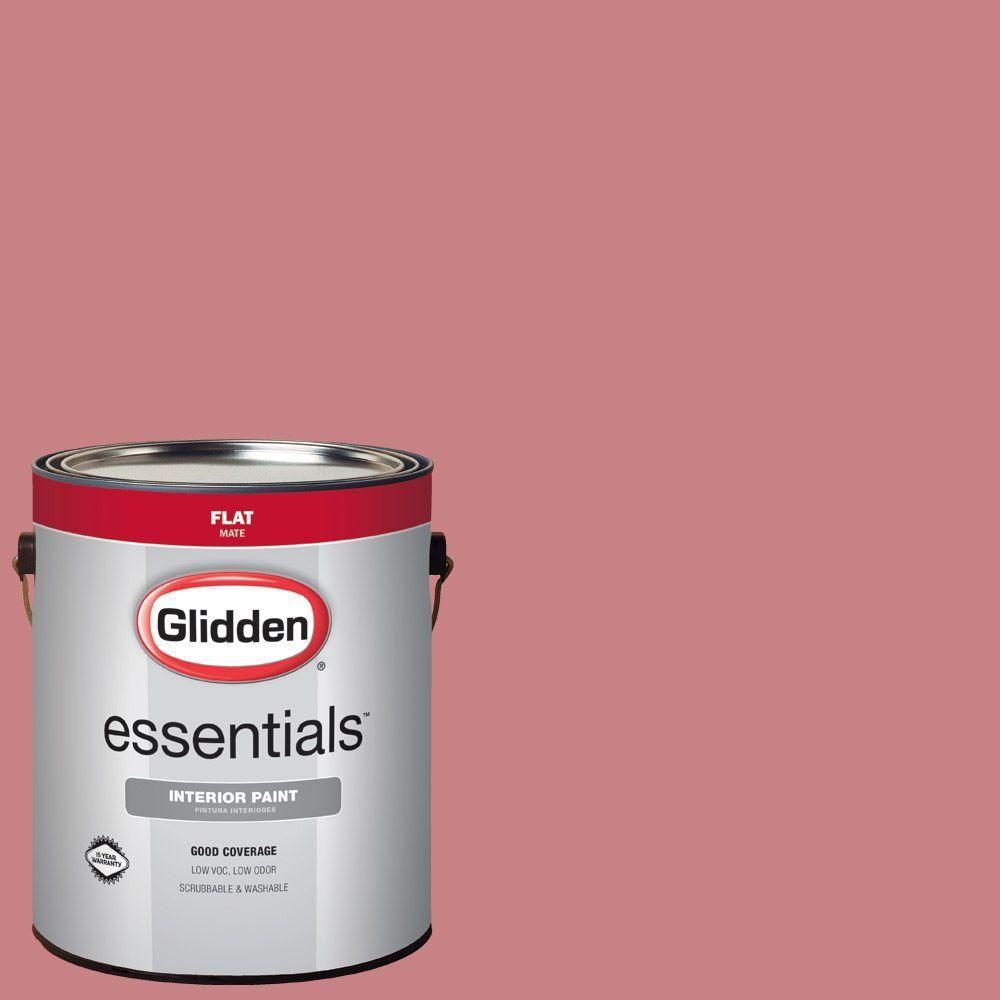 Glidden Essentials 1 Gal Hdgr49 Fashion Front Rose Flat Interior Paint K S Bedroom Was 90rr 39 226 Riorose Glidden Essentials Interior Paint Ppg Timeless