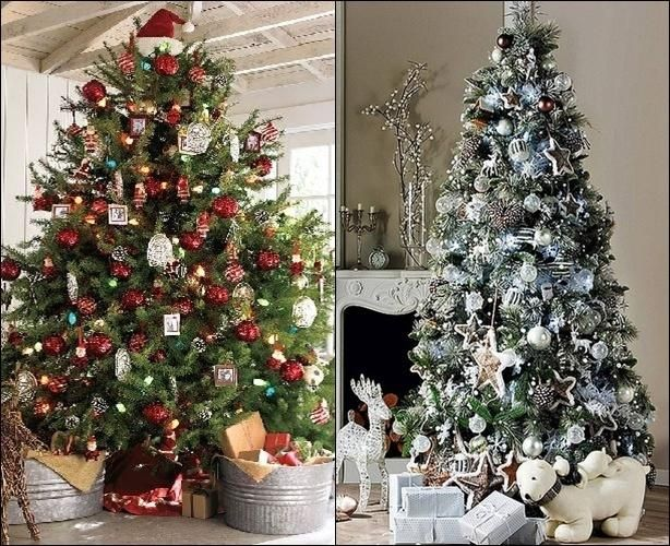 Decorating Home Interiors Wall Decor Christmas Trees Decorated With Ribbon Home De Christmas Wall Decor Decorating With Christmas Lights Outdoor Christmas Tree