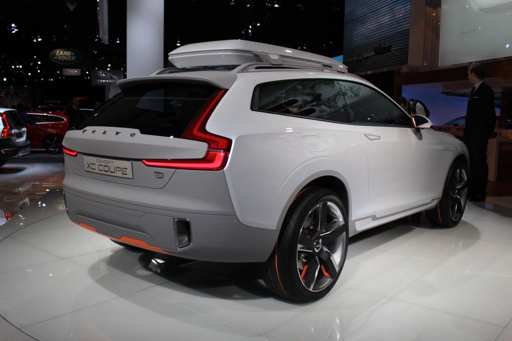 Volvo Concept Xc Coupe Revealed Hints At Design Of 2016 Xc90 Live Photos Video Bilar