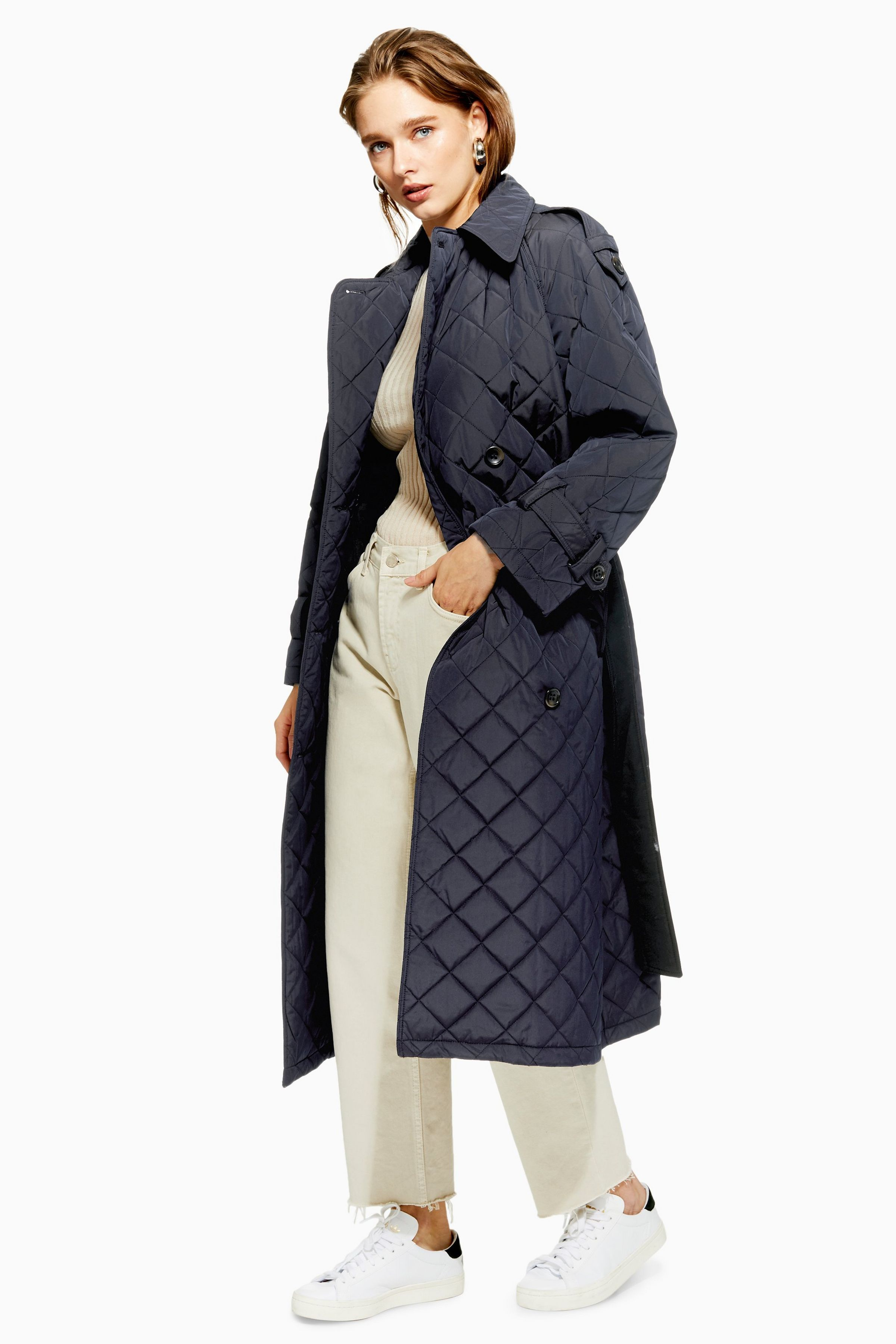 944f3f33b Quilted Trench Coat by Boutique | The perfect coat | Coat, Trench og ...