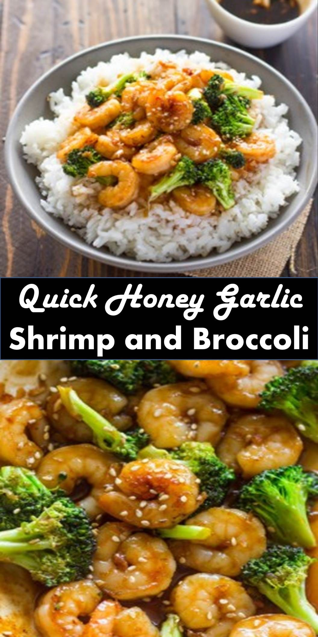 Best Dinner Quick Honey Garlic Shrimp And Broccoli