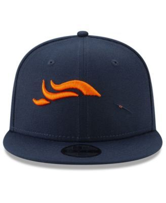 purchase cheap 6263d d17d8 New Era Boys  Denver Broncos Logo Elements Collection 9FIFTY Snapback Cap -  Orange Adjustable